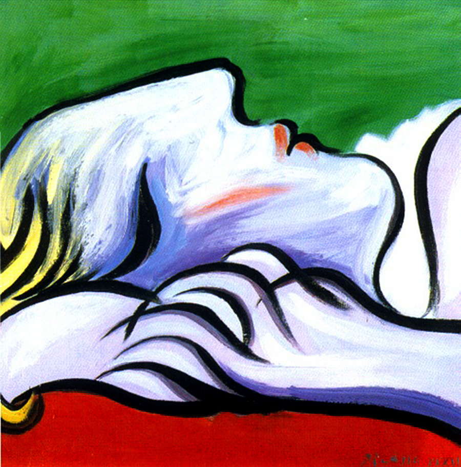 sleep talking courting nature s sweet nurse letter from home asleep 1932 by pablo picasso